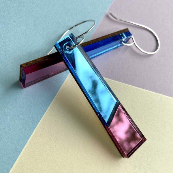 Kin Mirror Acrylic Earrings | Studio Dariolina