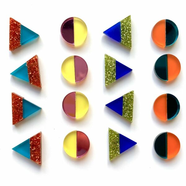 Nao & Emi Stud Earring Collection | Studio Dariolina
