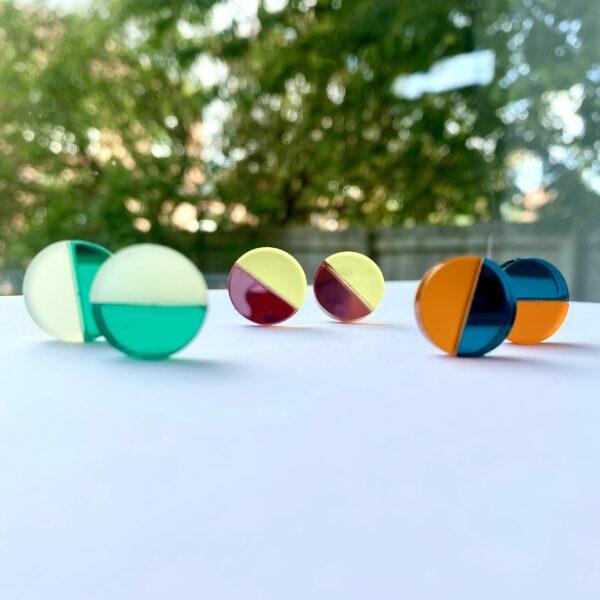 Emi Acrylic Earring New Colours | Studio Dariolina