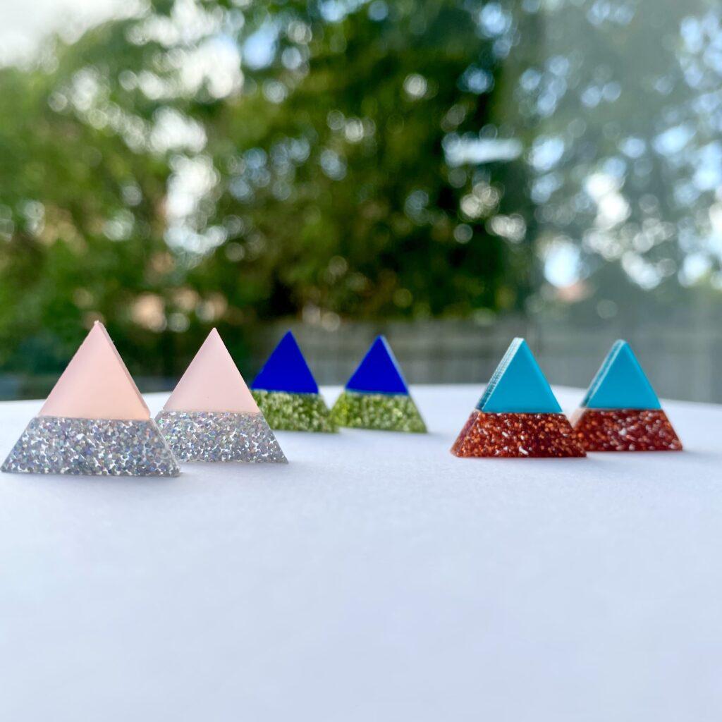 Nao Acrylic Earring New Colours | Studio Dariolina